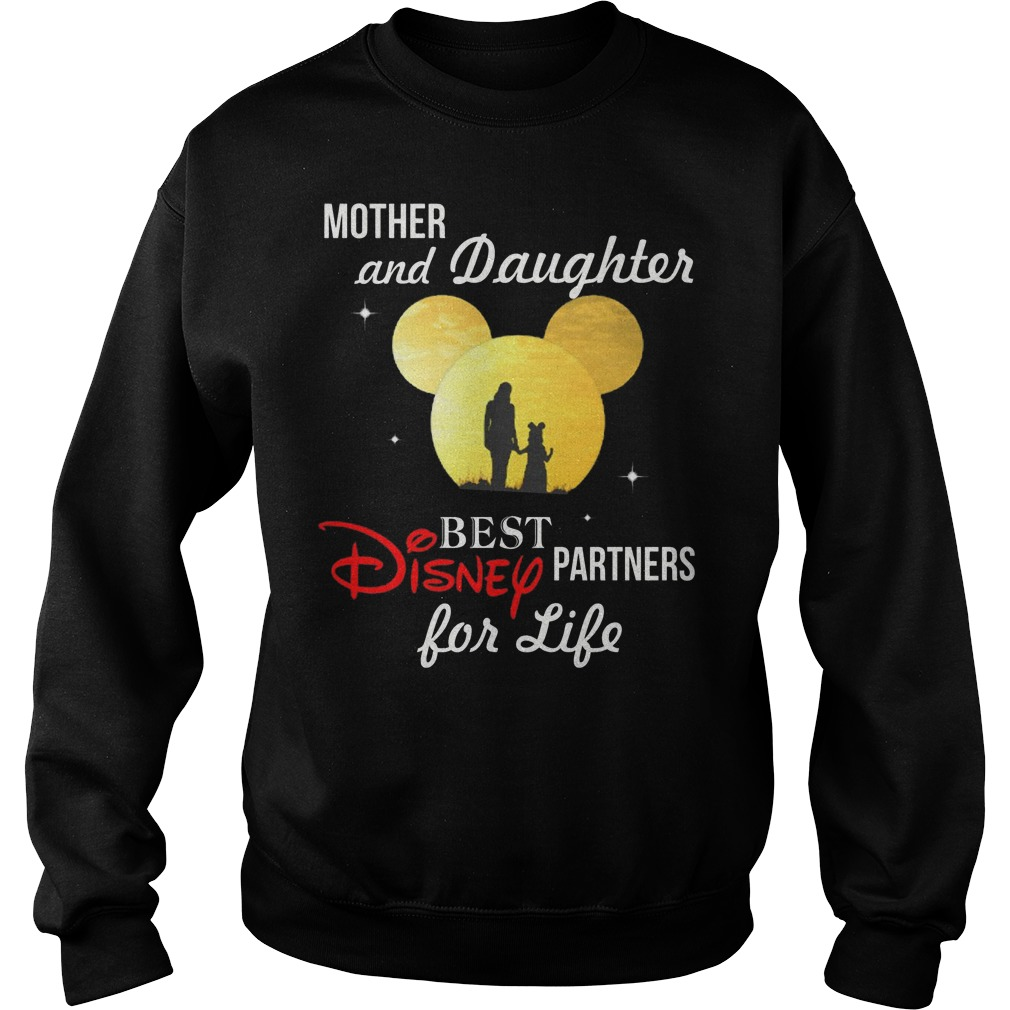 Disney Mother and Daughter best partners for life sweater