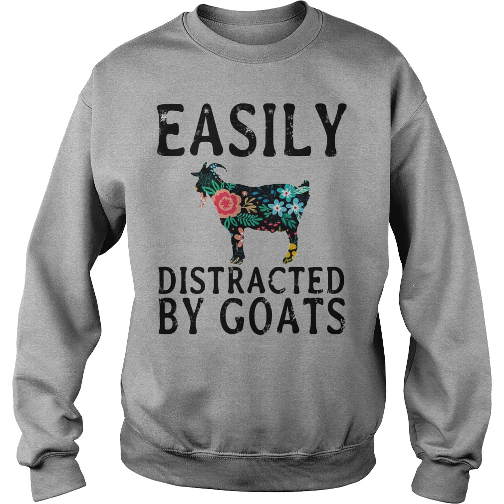 Easily Distracted By Goats sweater