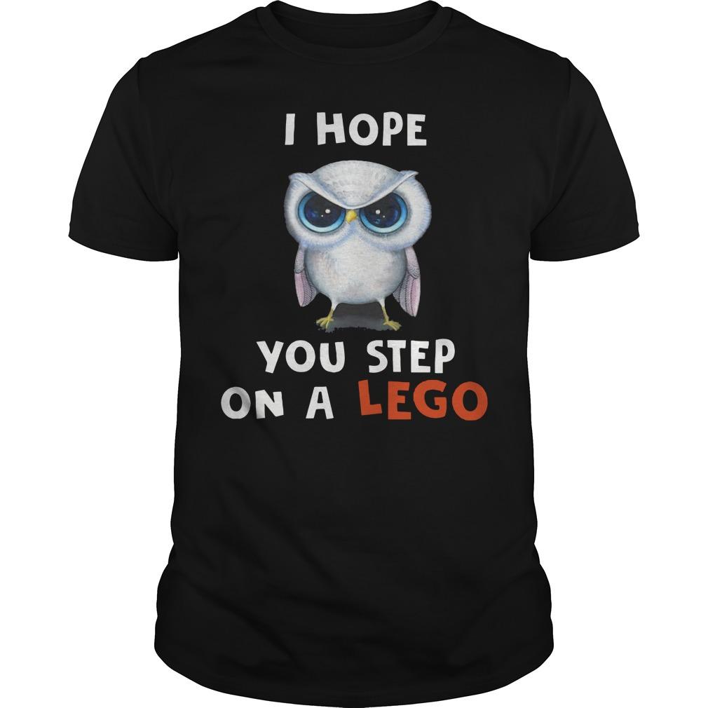 Fluffi hope you step on a Lego shirt