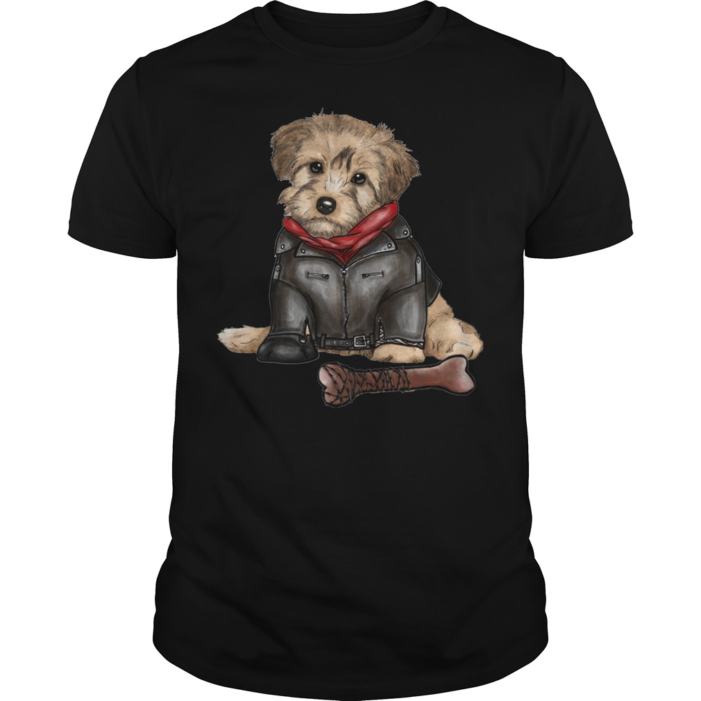 Havanese Dog and Negan Style shirt