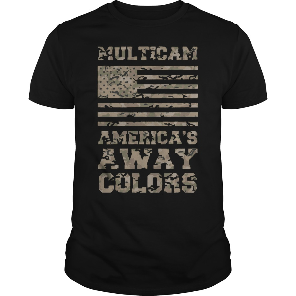 Multicam America's Flag Away Colors shirt