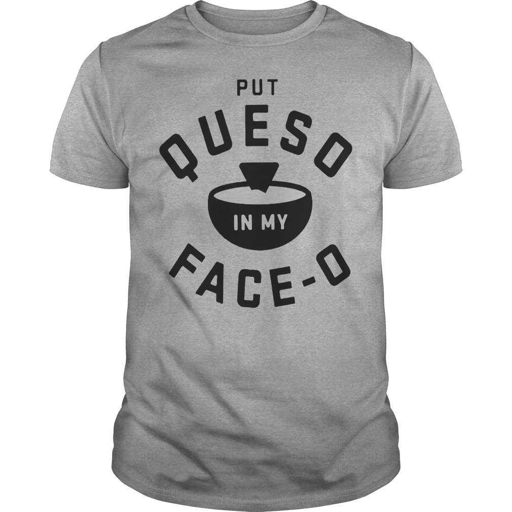 Put Ques O In My Face O Shirt