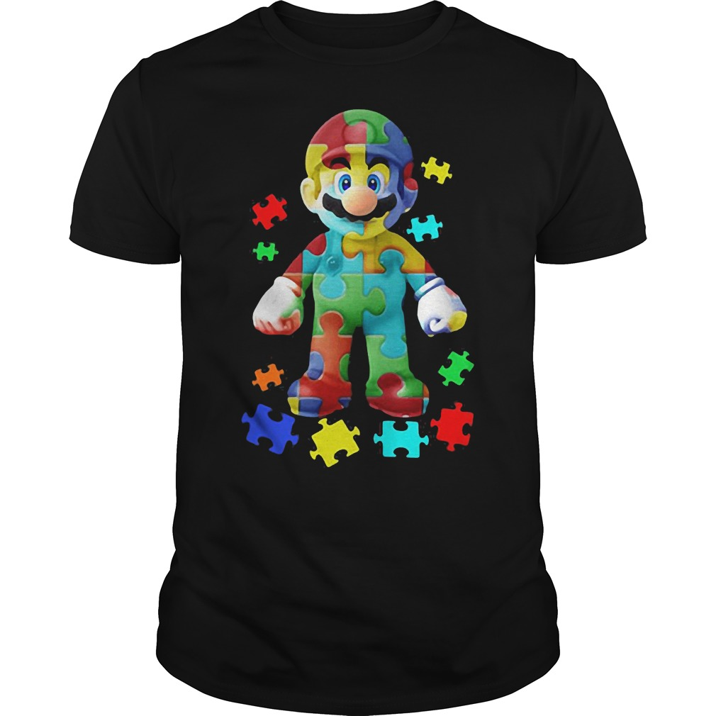 Super Mario autism shirt