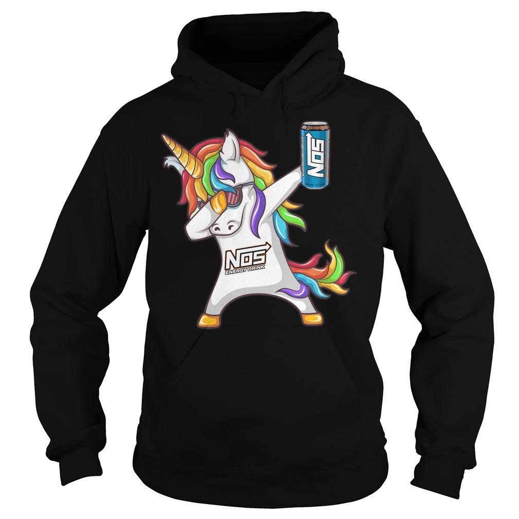 Unicorn dabbing Nos Energy hoodie