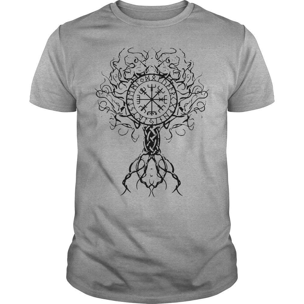 Viking tree of life shirt