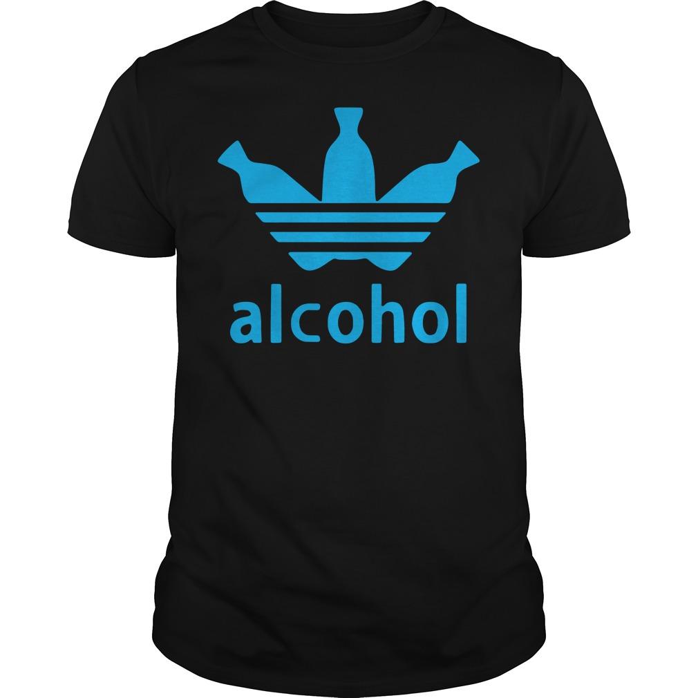 Adidas alcohol shirt