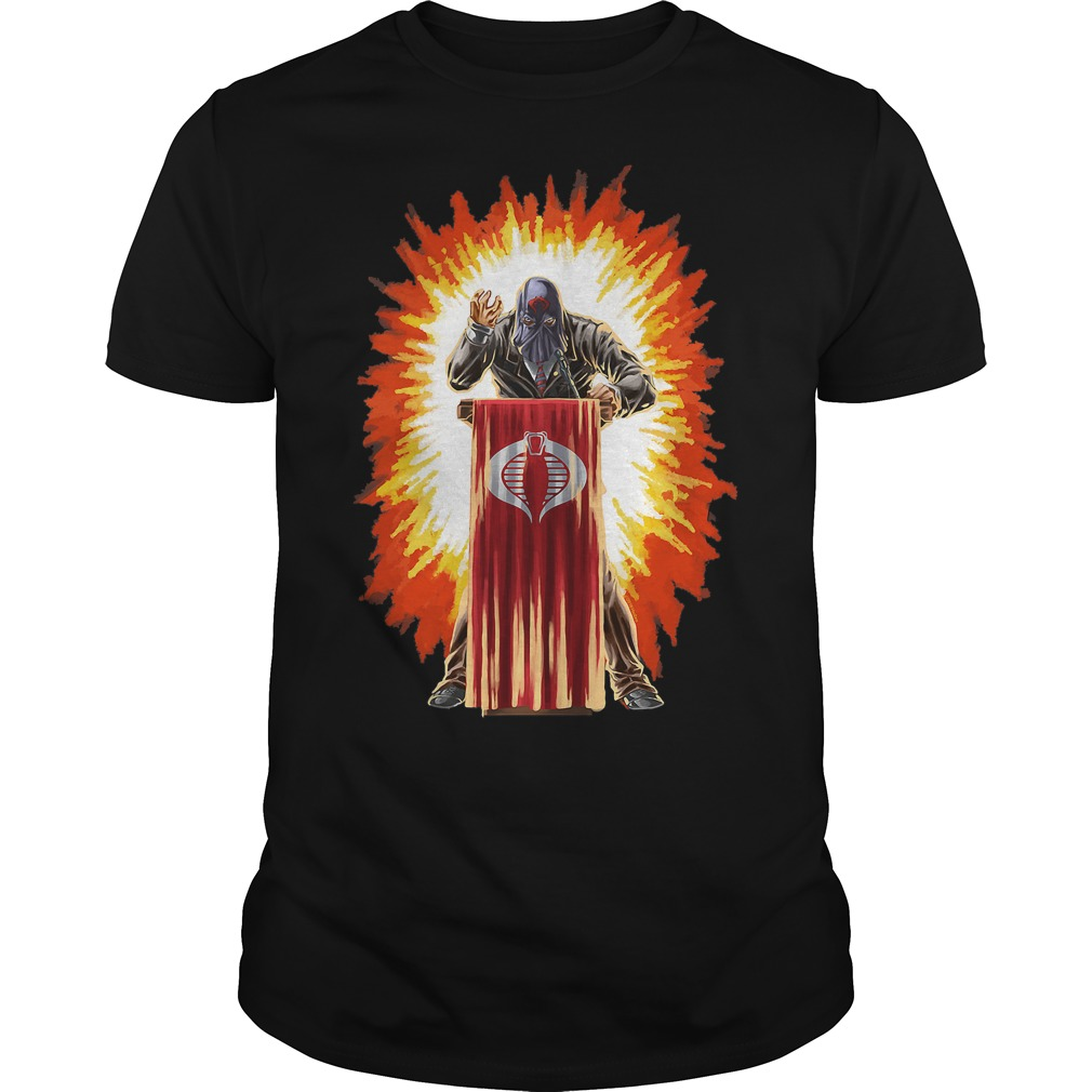 Cobra Commander Box shirt