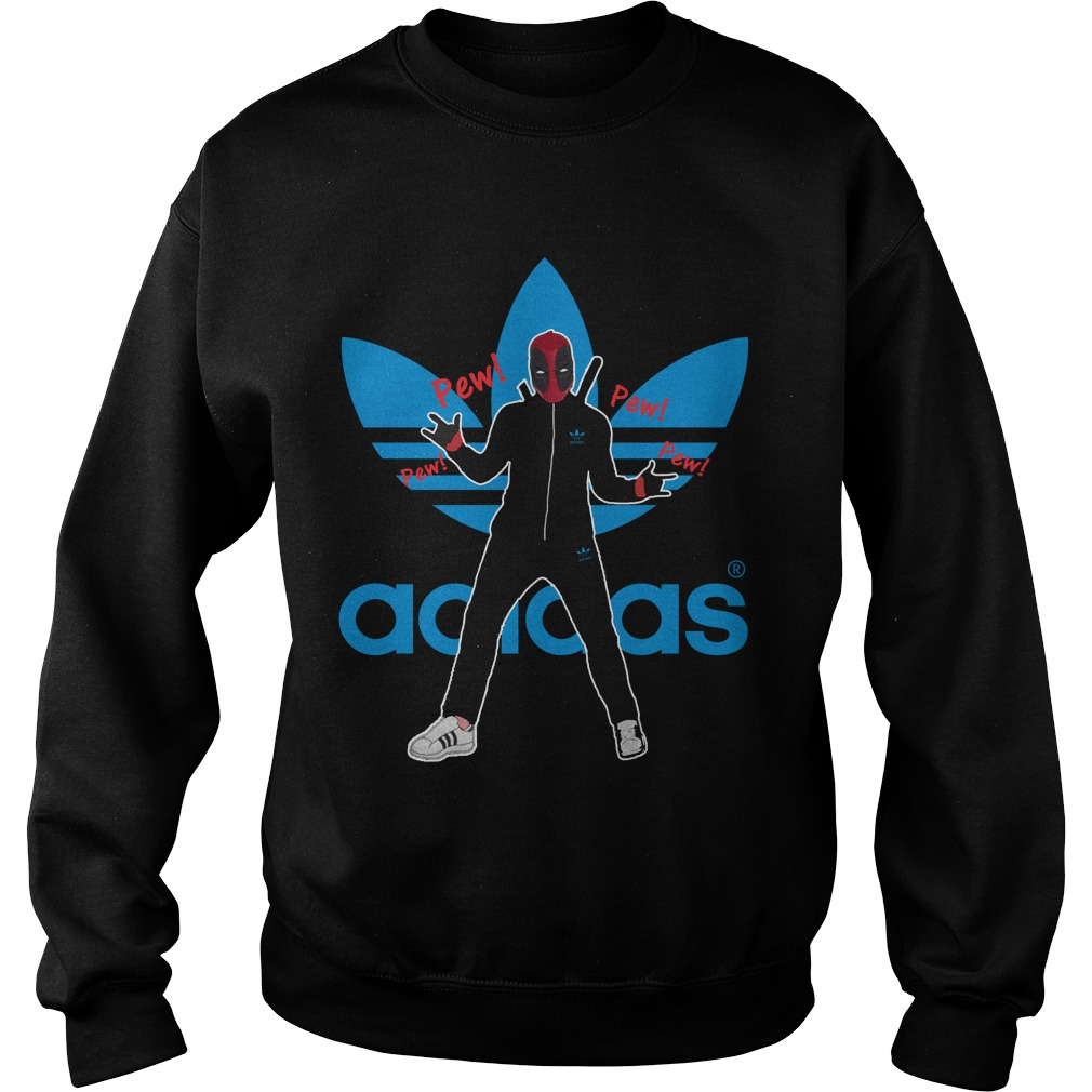 Deadpool pewpew Adidas sweater