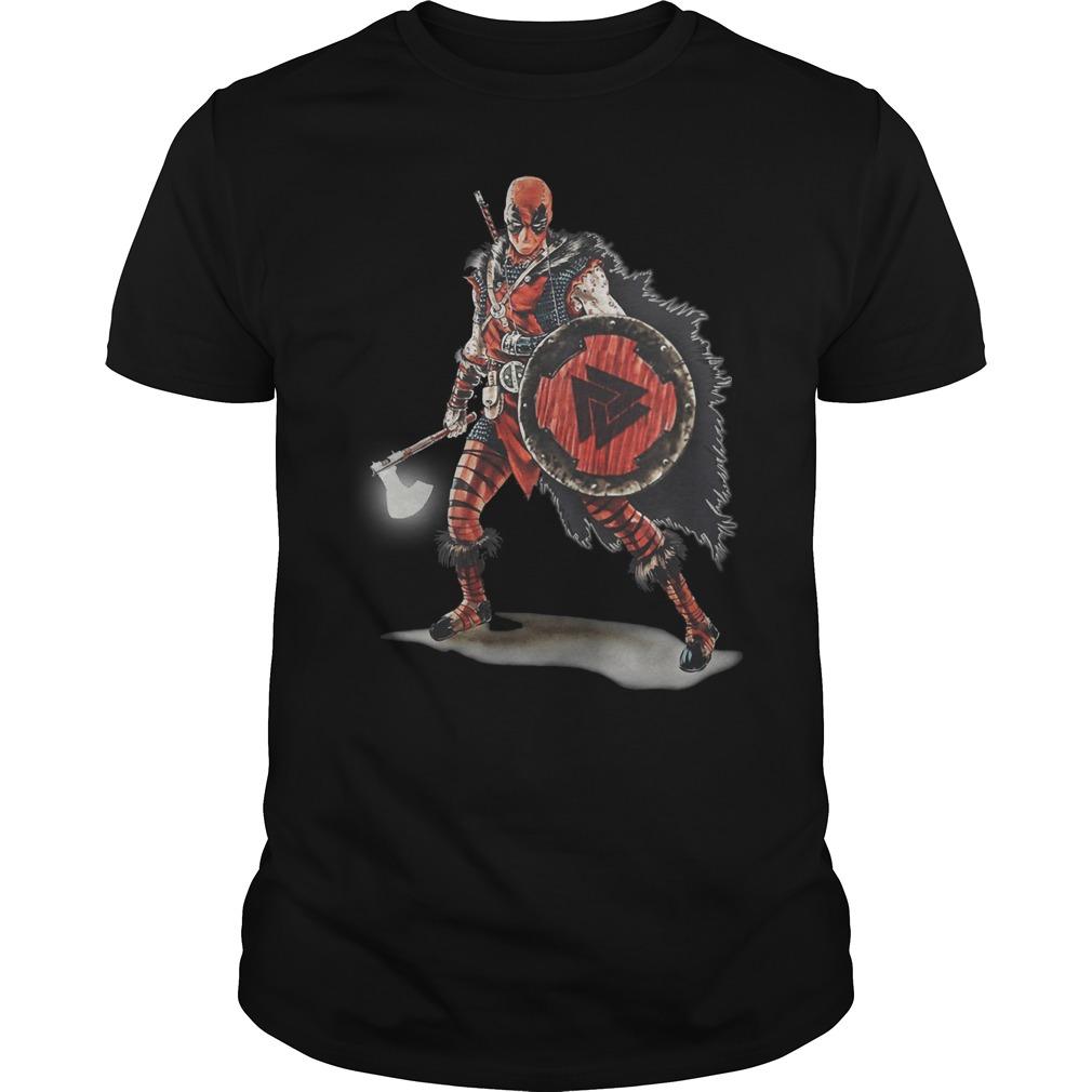 Deadpool Viking shirt