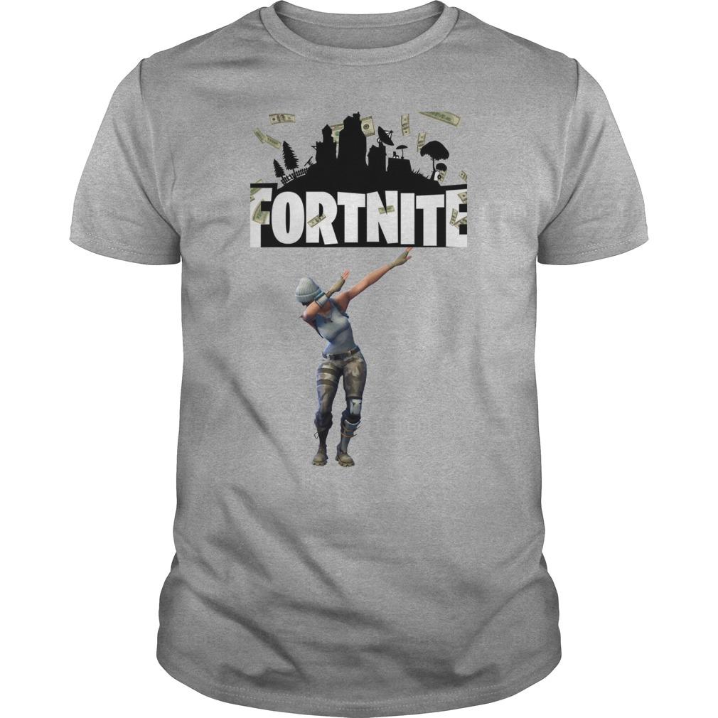 Fortnite PS Plus Celebration dabbing shirt