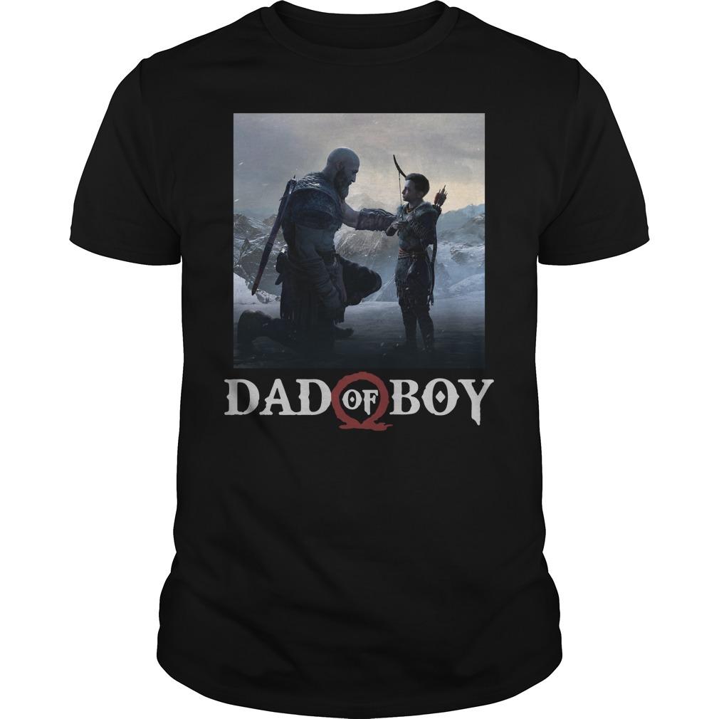 Omega God of war Dad of boy shirt