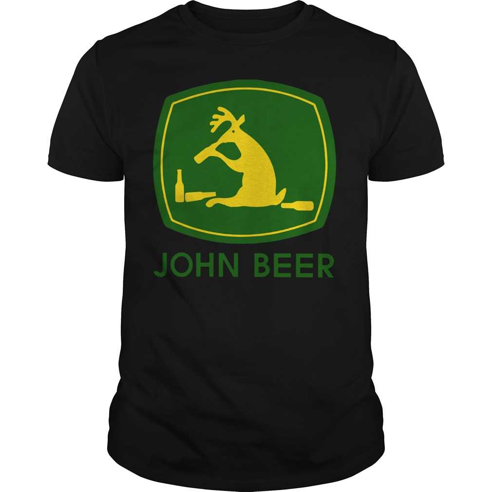 Reindeer John beer shirt