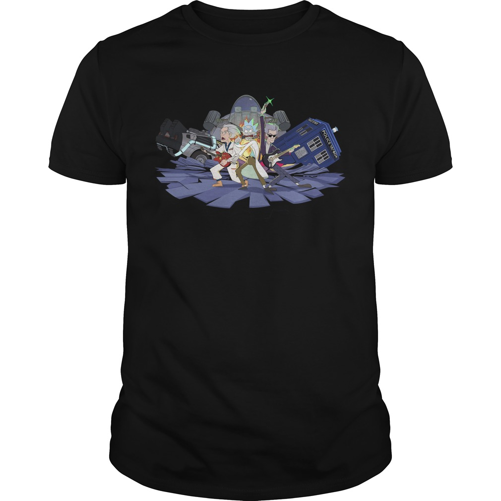 Rick and the time lords shirt