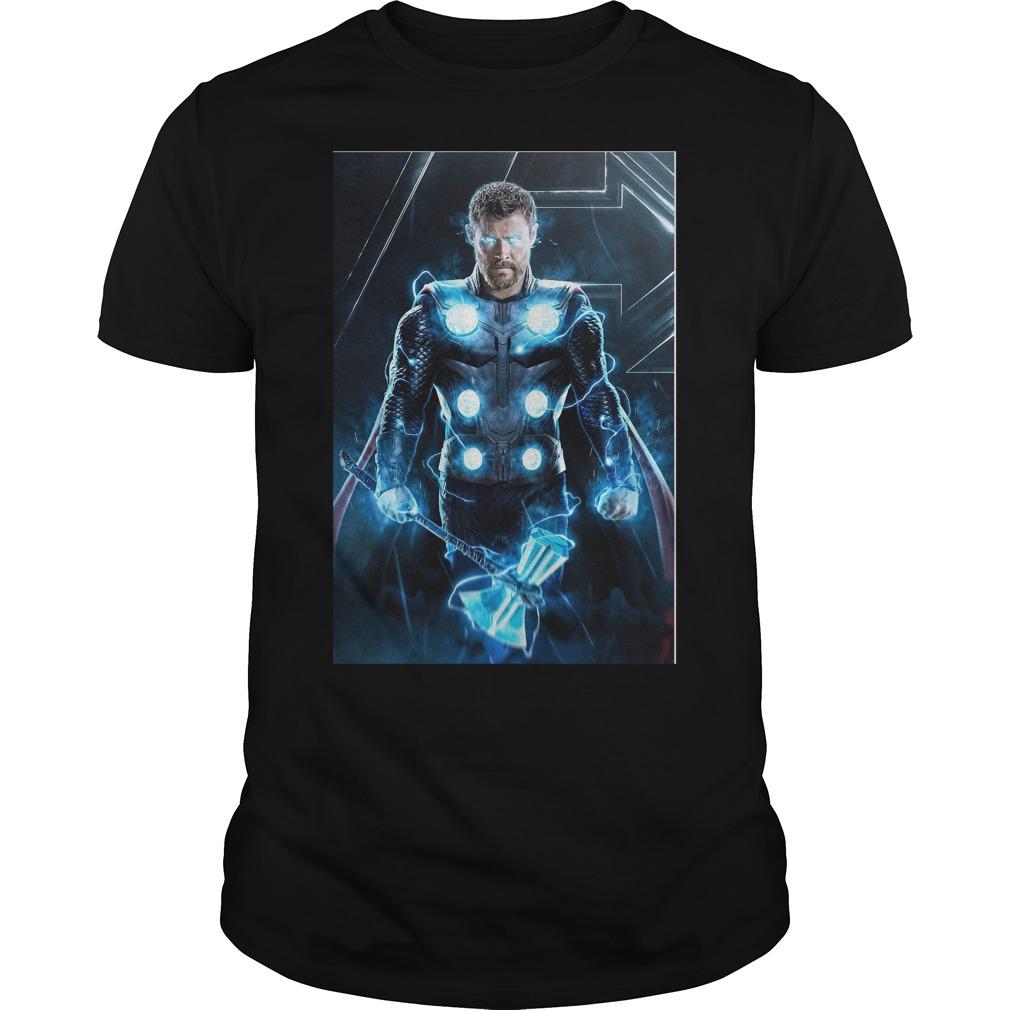 Thor in Avengers Infinity War 2018 shirt