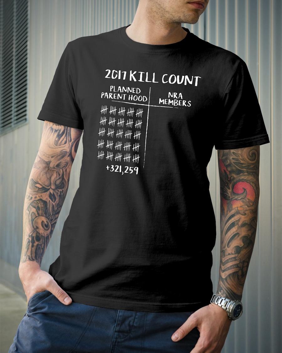 2017 kill count shirt