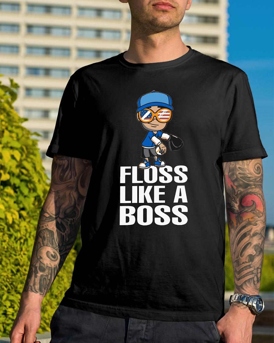 Baseball Floss Like A Boss shirt