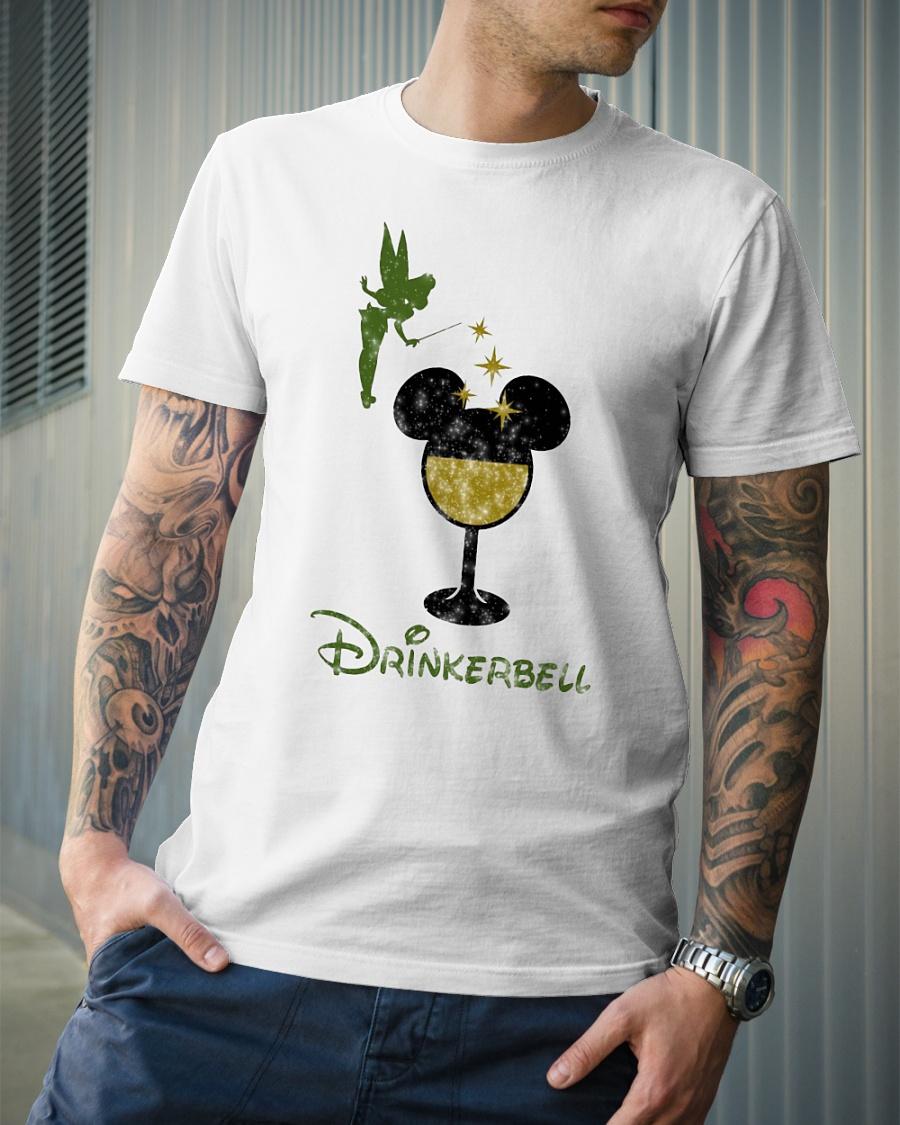 Disney drinkerbell shirt