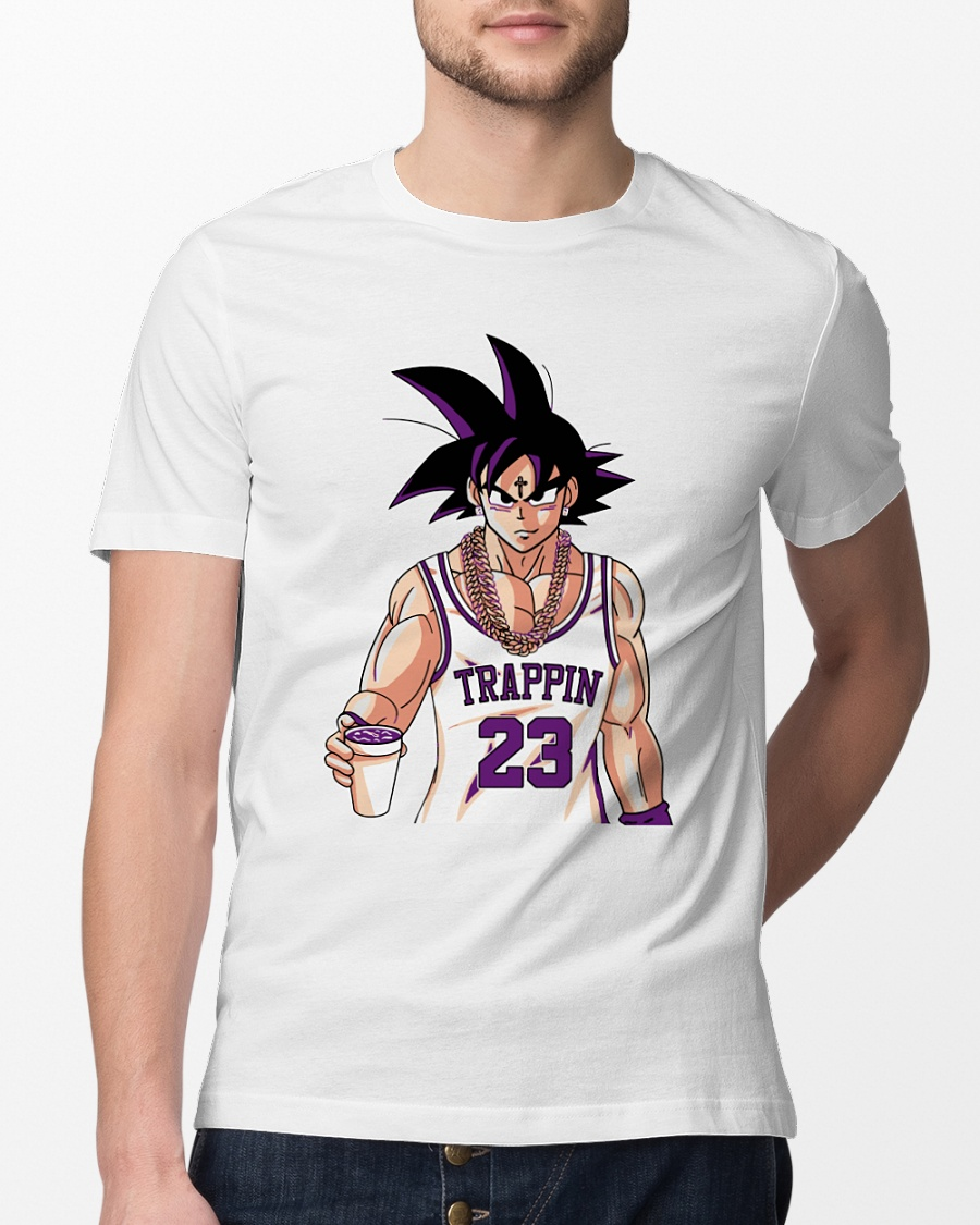Dragon Ball Goku trappin 23 shirt