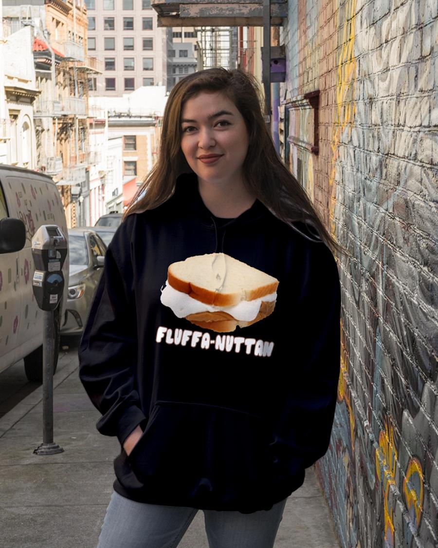 Fluffernutter sandwich hoodie