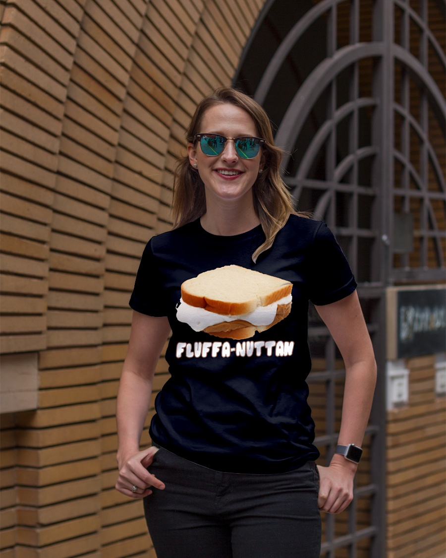 Fluffernutter sandwich ladies shirt