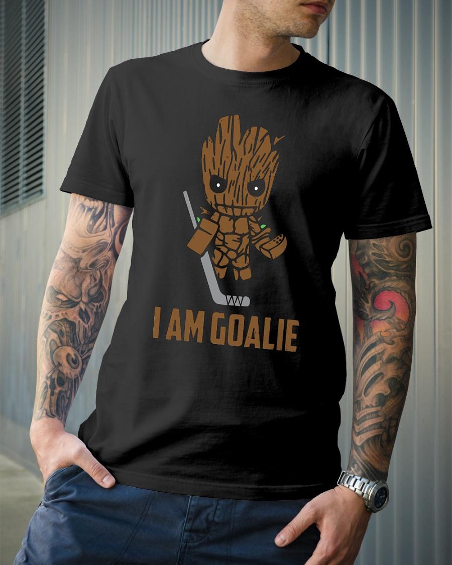 Groot I am goalie hockey shirt
