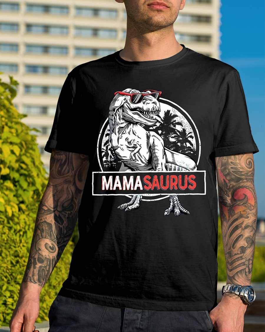 Mama Saurus T-Rex shirt