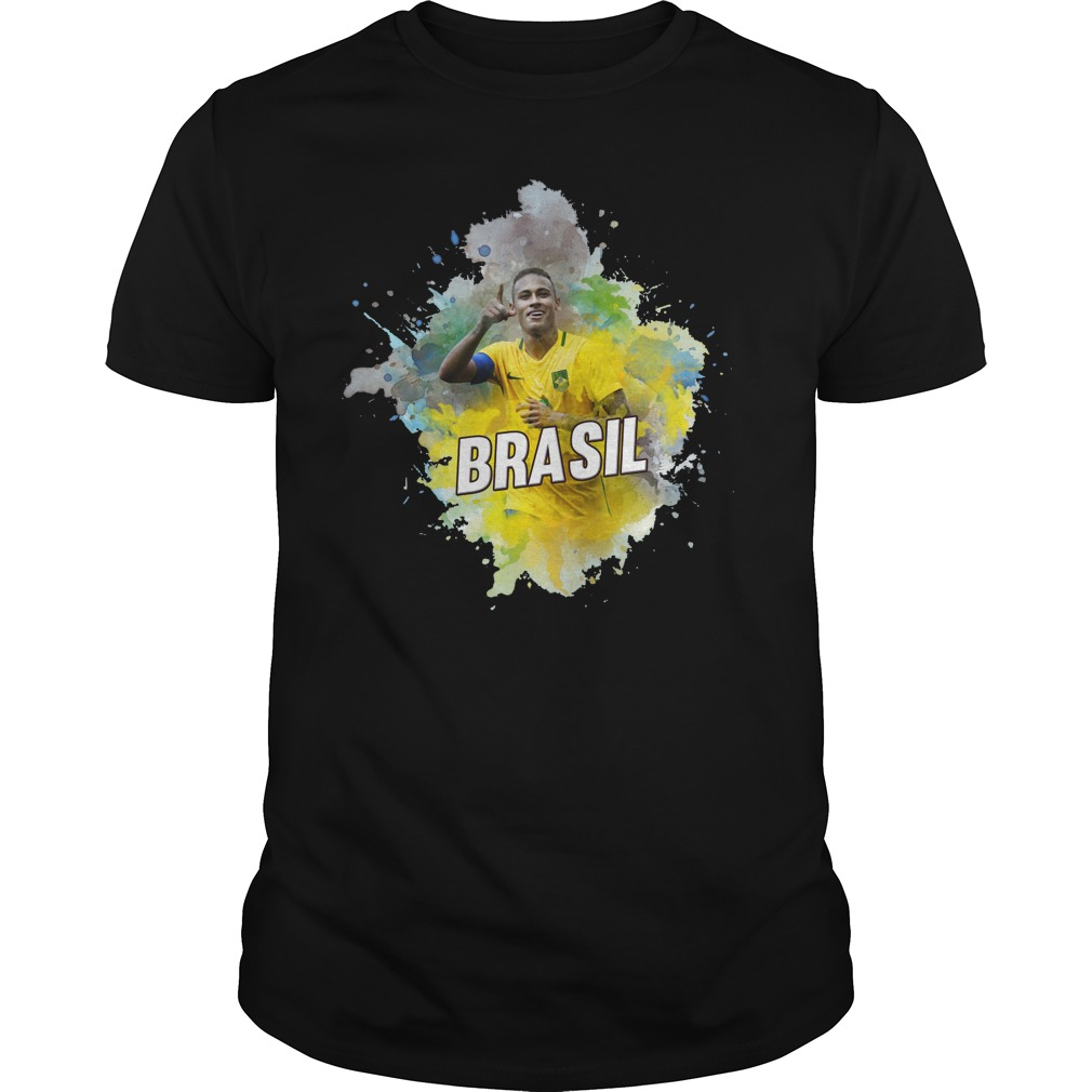 Neymar Jr of the Brazil in world cup 2018 shirt