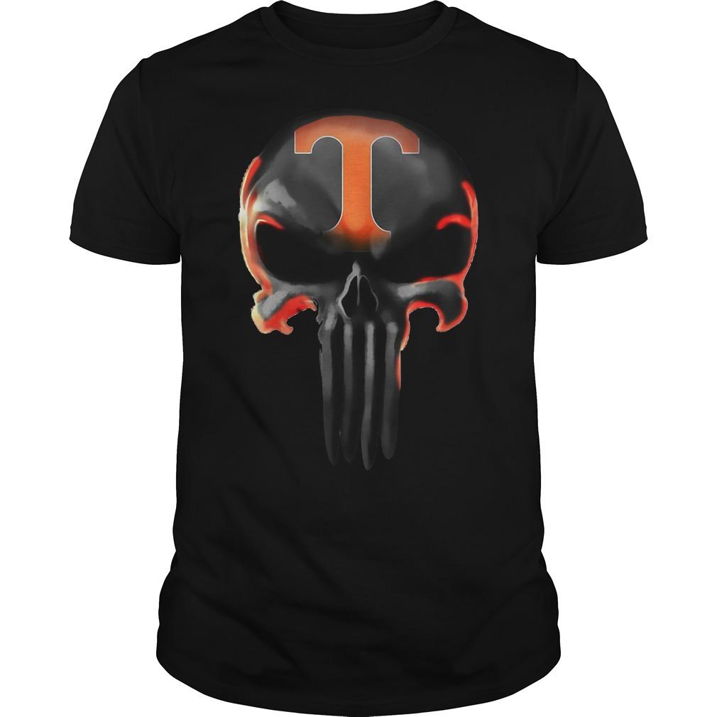 Punisher Tennessee Volunteers shirt