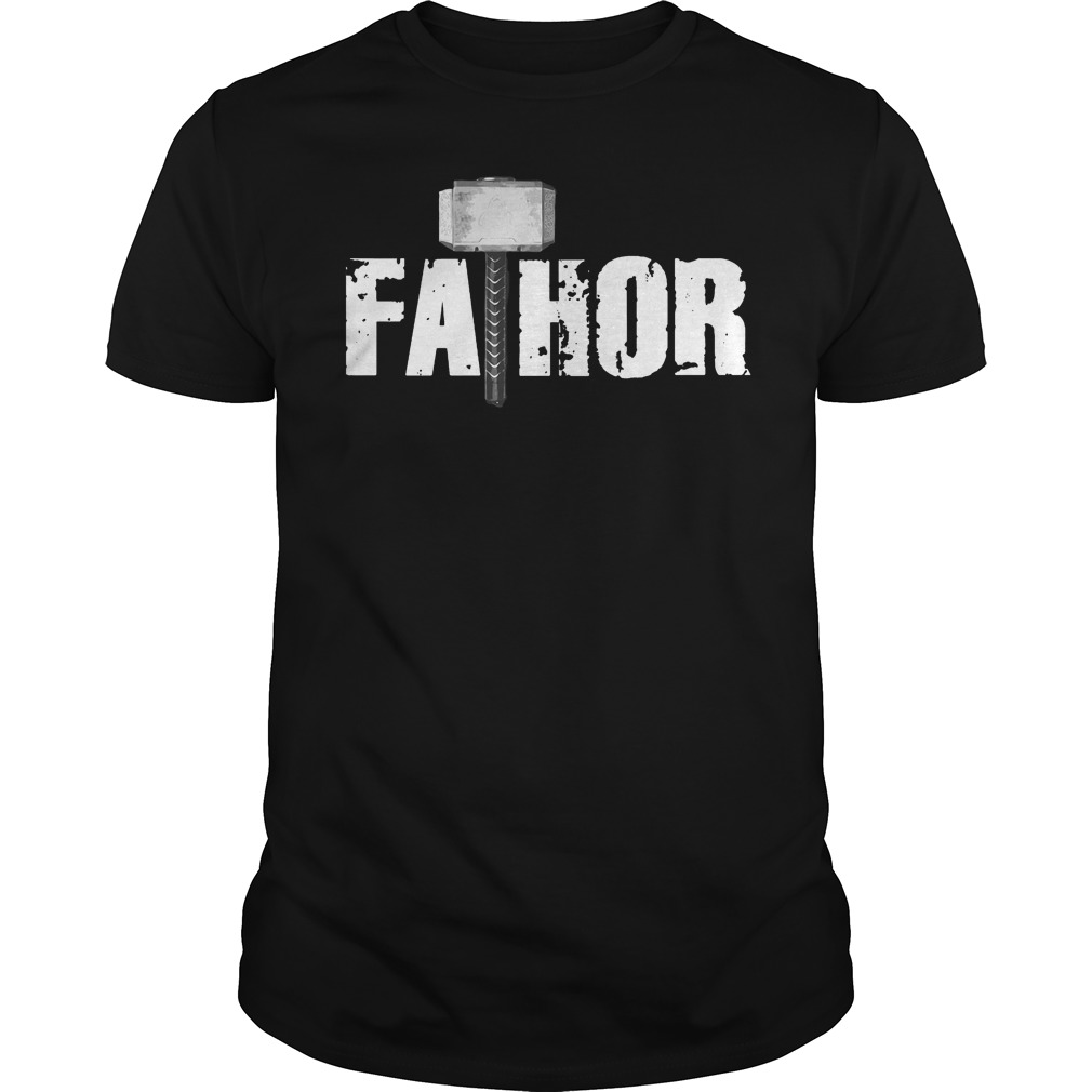 Father day fathor hammer shirt