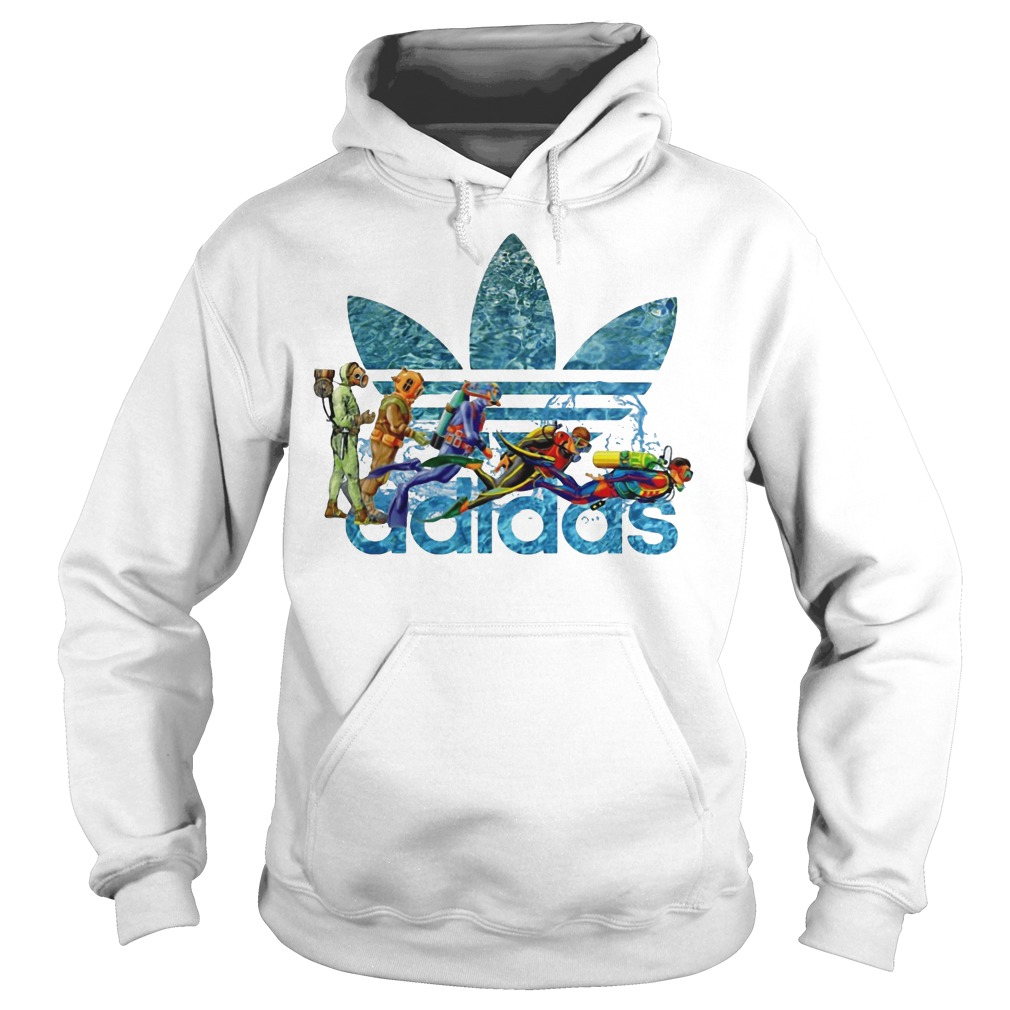 Adidas Scuba Diving hoodie