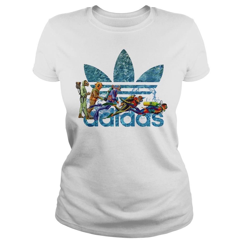Adidas Scuba Diving ladies shirt