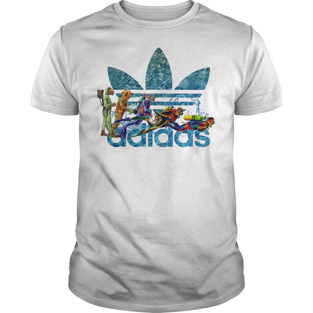 Adidas Scuba Diving shirt