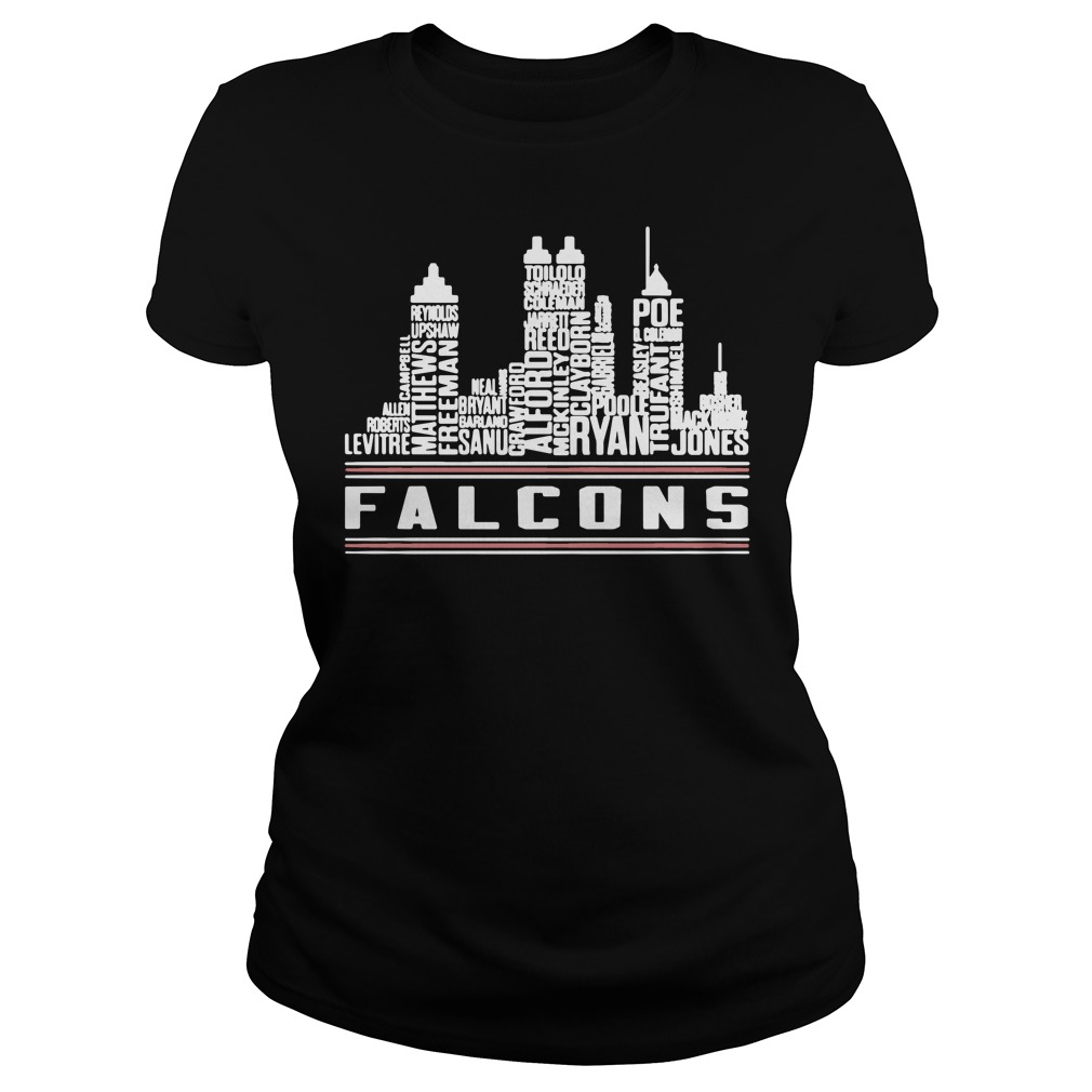 Atlanta Falcons ladies shirt