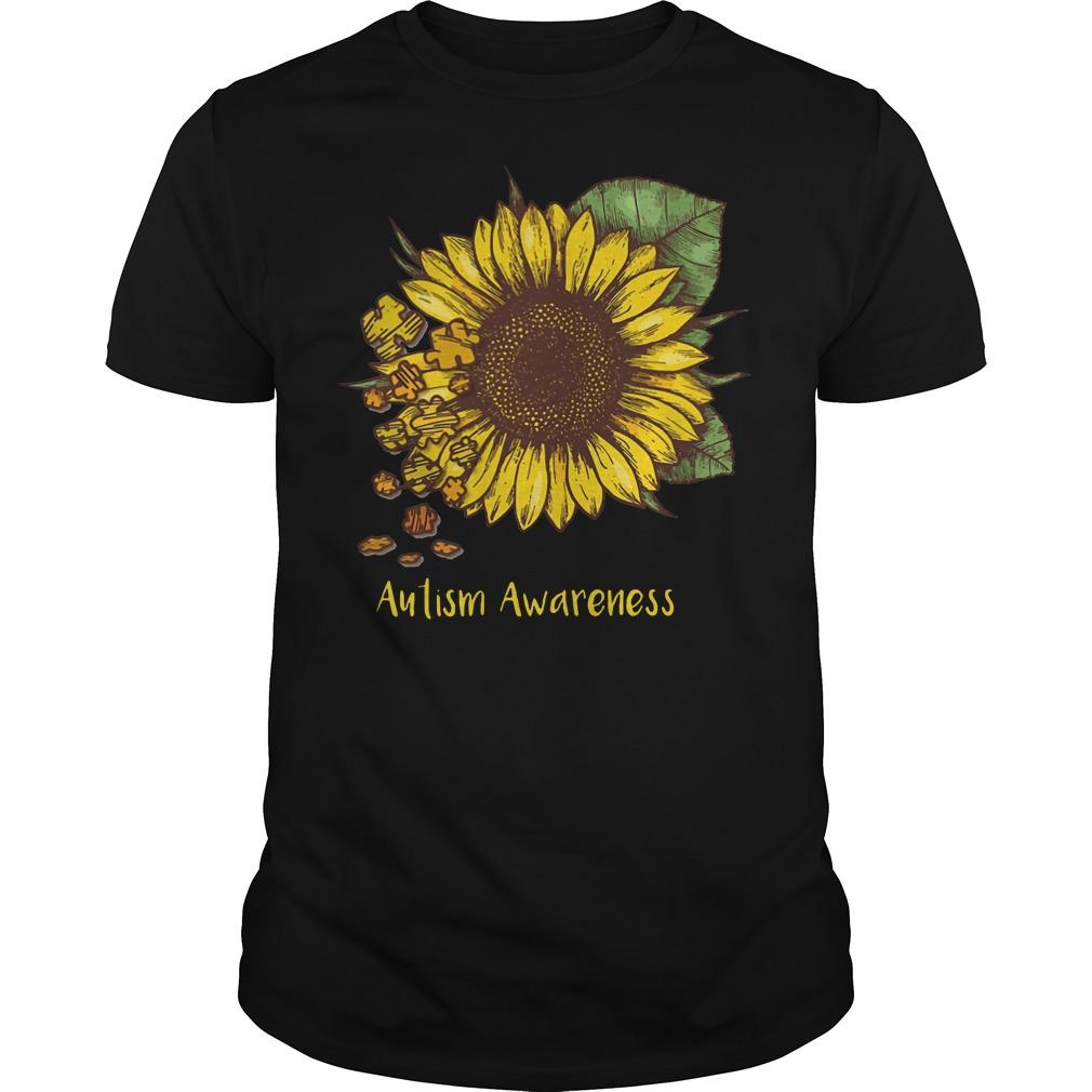 Autism Awareness flowers shirt