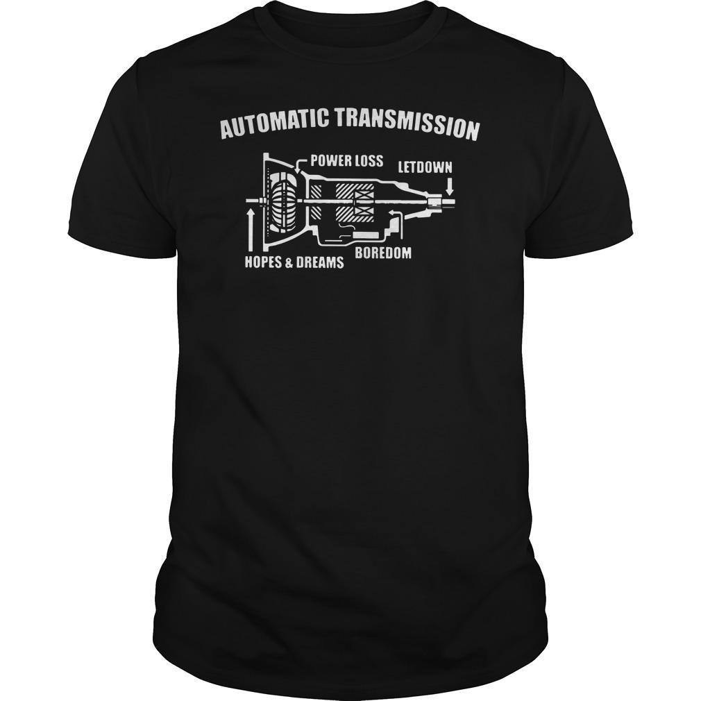 Automatic transmission shirt version 2