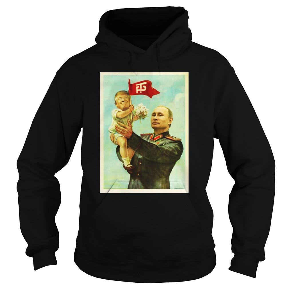 Baby Trump and Putin hoodie