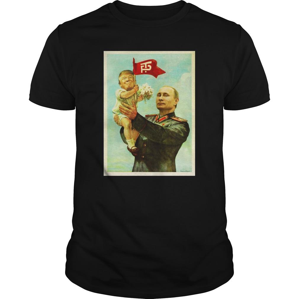 Baby Trump and Putin shirt
