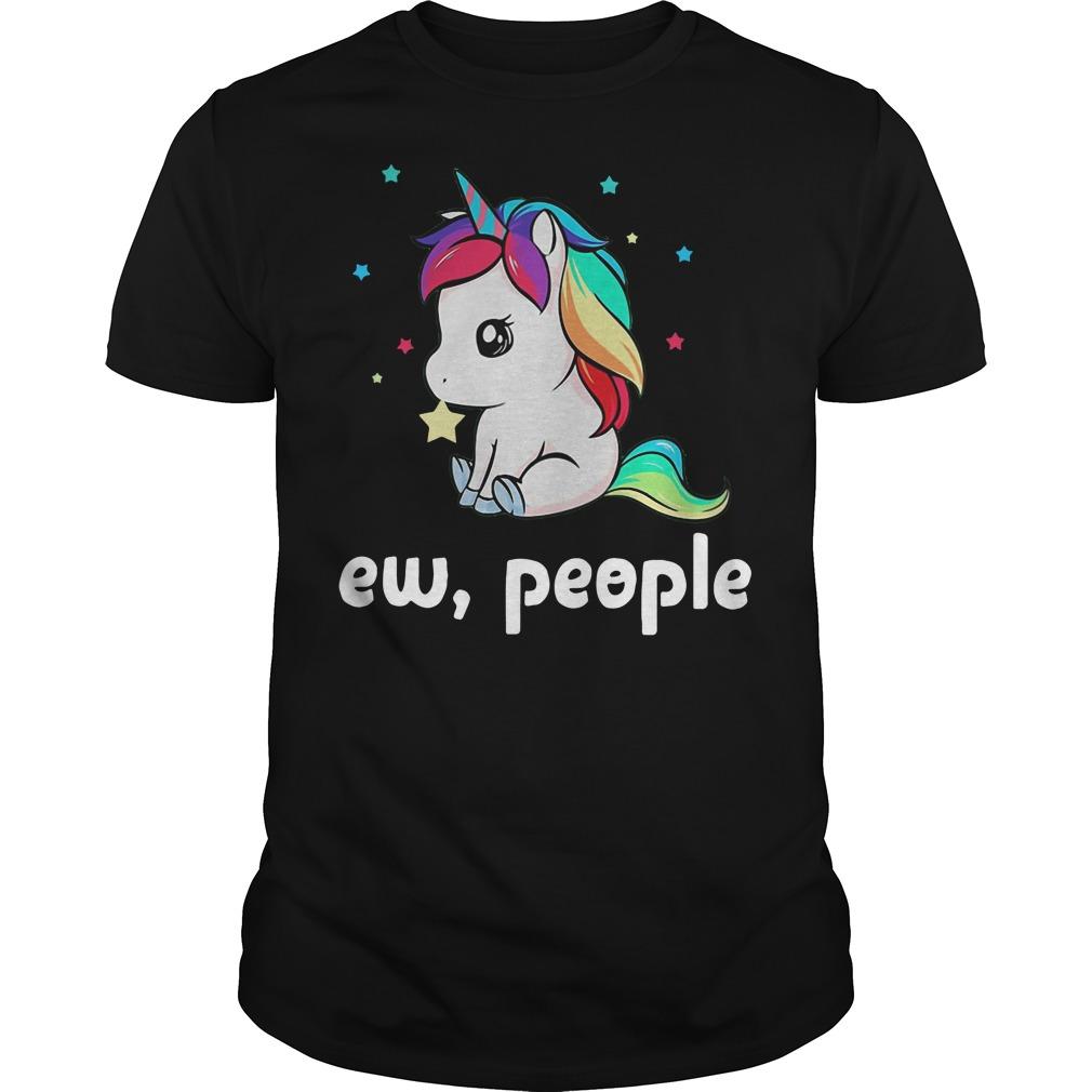 Baby Unicorn ew people shirt