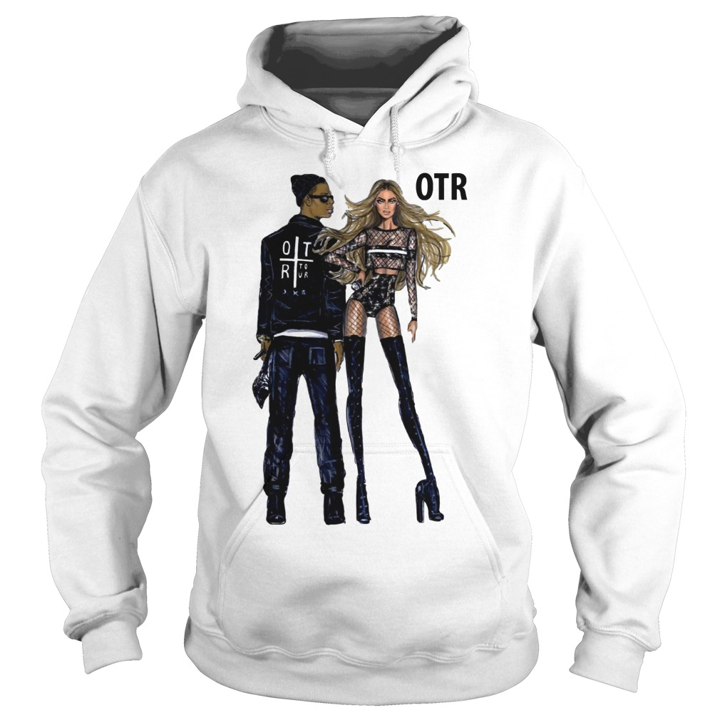 Beyonce and Jay Z world tour OTR 2 2018 fashion Regina Vogue UK hoodie
