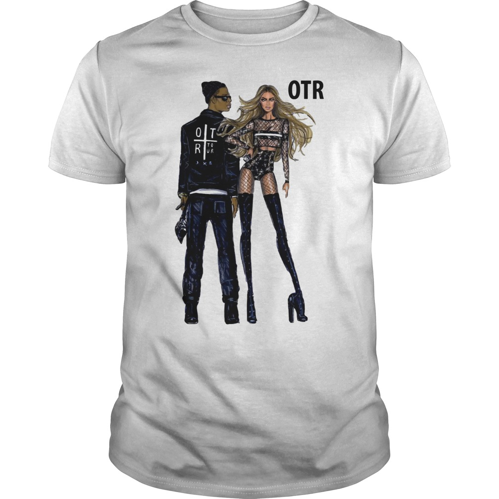 Beyonce and Jay Z world tour OTR 2 2018 fashion Regina Vogue UK shirt