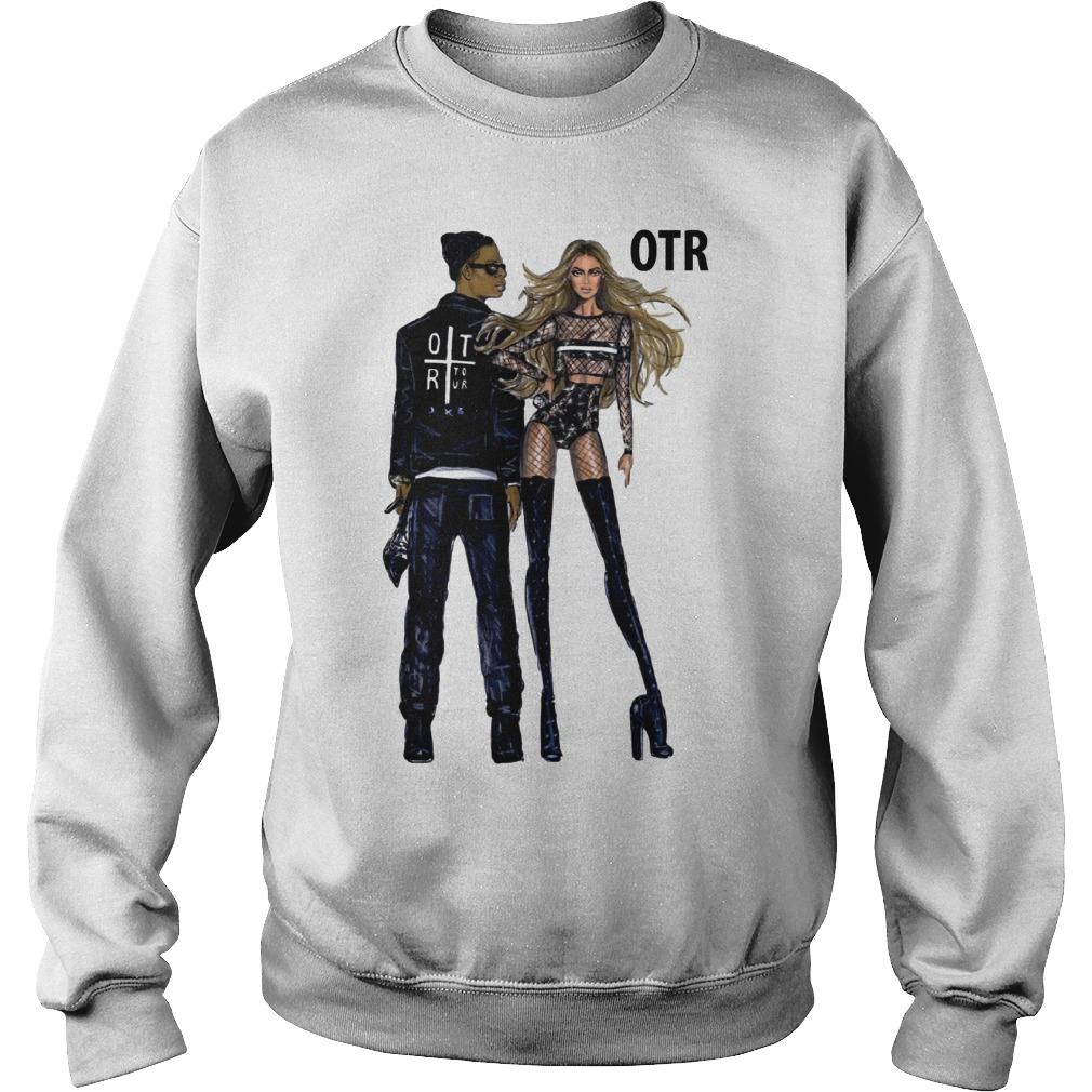 Beyonce and Jay Z world tour OTR 2 2018 fashion Regina Vogue UK sweater