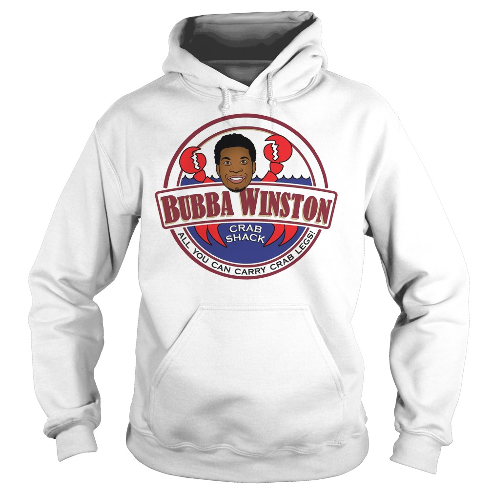Bubba Winston all you can Crazee crab legs hoodie