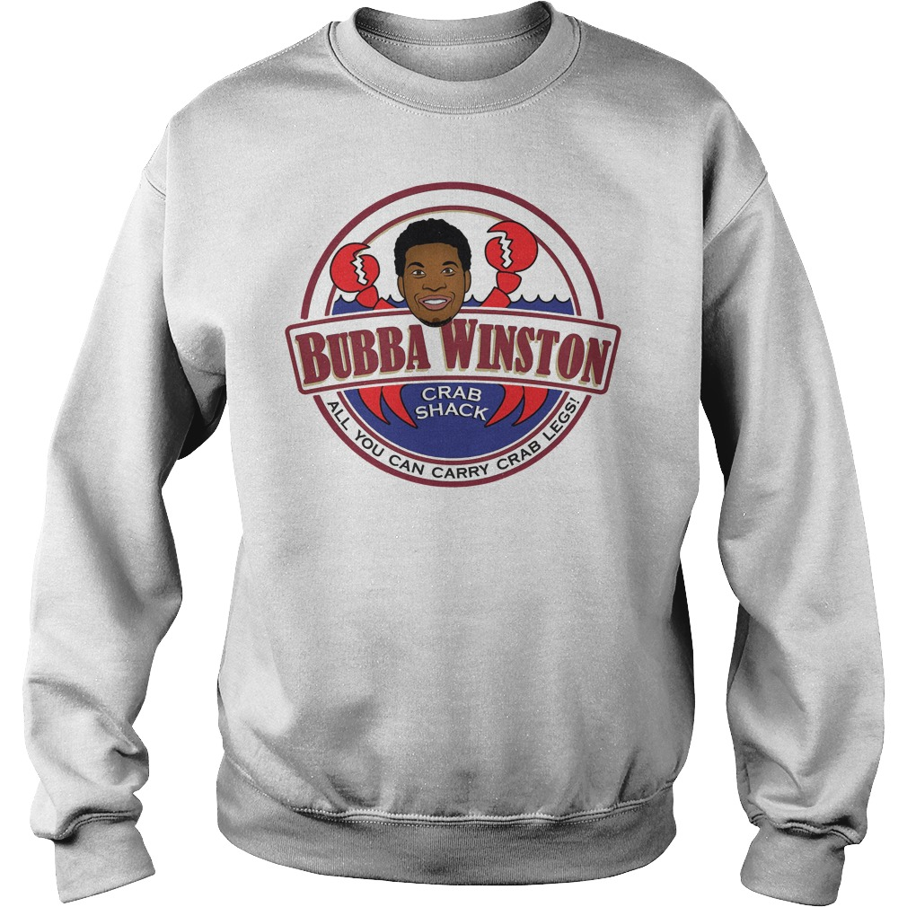 Bubba Winston all you can Crazee crab legs sweater