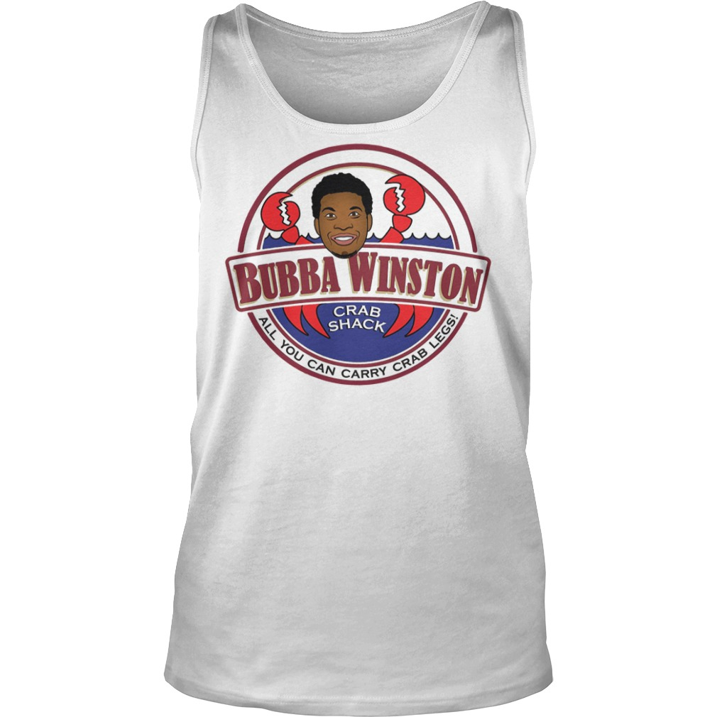 Bubba Winston all you can Crazee crab legs tank top