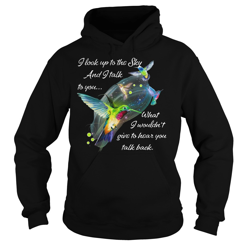 Butterfly I look up to the sky and i talk to you what I wouldn't give to hear you talk back hoodie