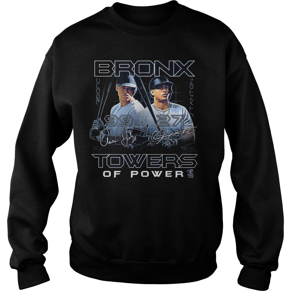 Coed Sportswear New York's Aaron Judge and Giancarlo Stanton Bronx Towers sweater