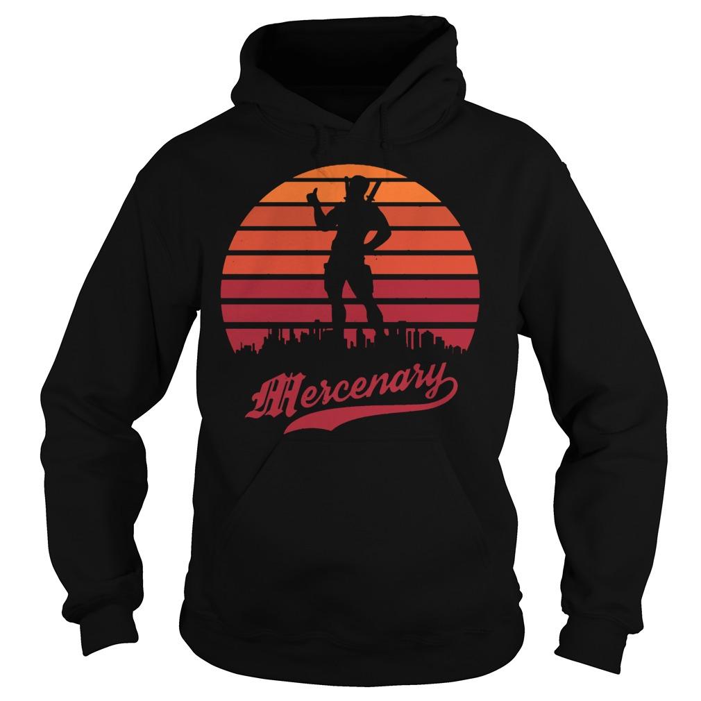 Deadpool mercenary hoodie