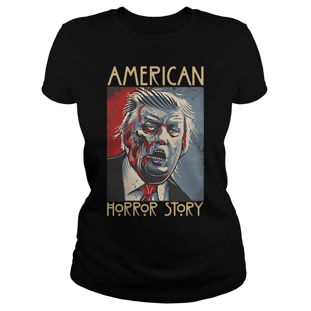 Donald Trump American horror story ladies shirt
