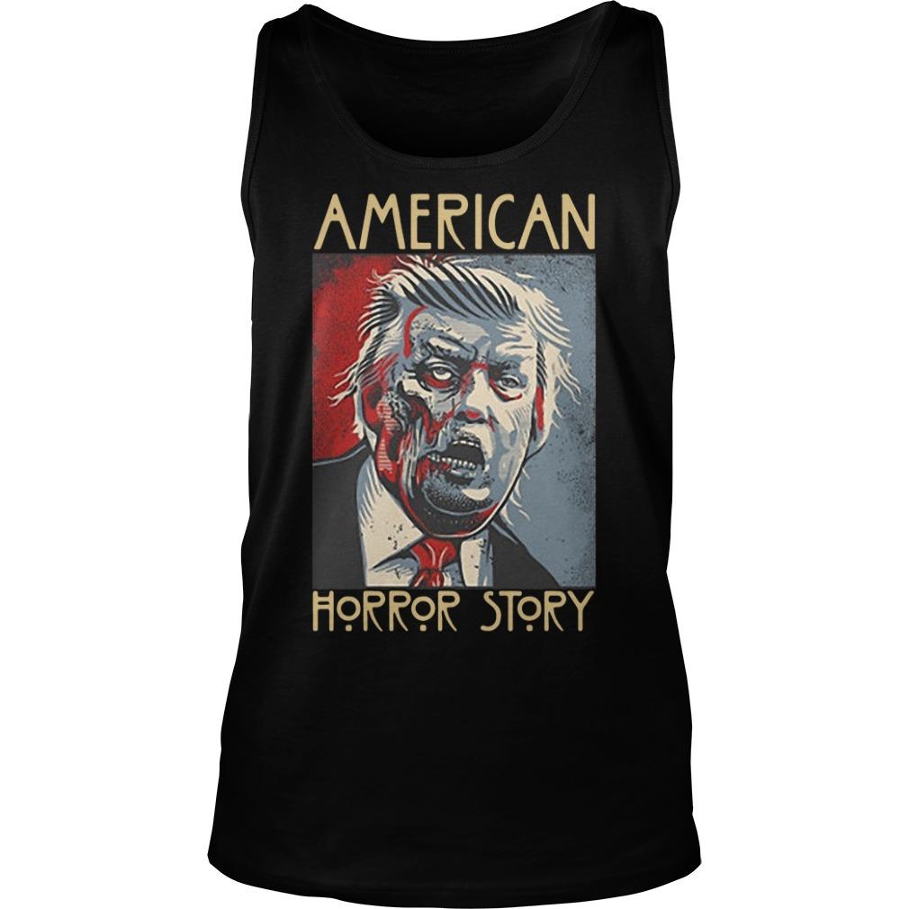 Donald Trump American horror story tank top