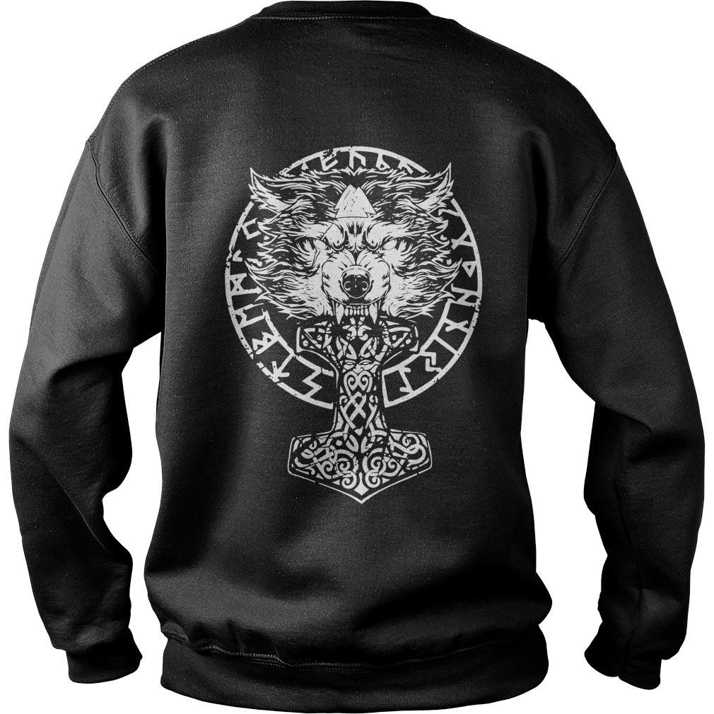 Fenrir viking sweater